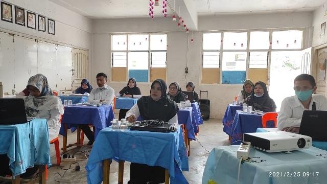 Bimtek Pembuatan Soal UM Bersama Pengawas Madrasah